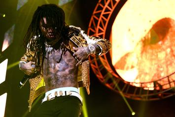 Swae Lee Gets His Mouth Busted Open When Fan Throws Cell Phone At Him On Stage