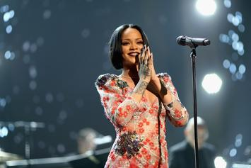 Rihanna Is All Smiles In Rare Family Photo With Mom & Dad