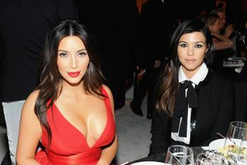 Kim Kardashian & Sister Kourtney Kardashian Compared: Photo From 1995