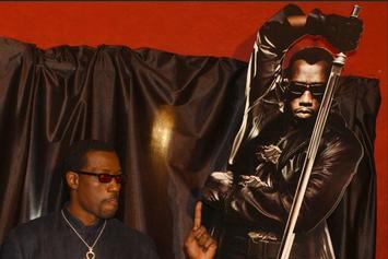 "Wesley Snipes Says He's In Talks With Marvel For A New ""Blade"""