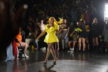 Lil' Kim Serves Honey Bee Realness At NY Fashion Week