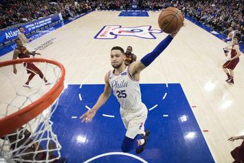 LeBron James, Ben Simmons Team Up In NYC Pickup Game: Video