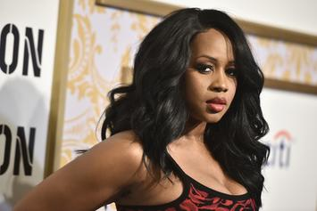 "Remy Ma Shows Off Her Growing Baby Bump: ""The Golden Child"""