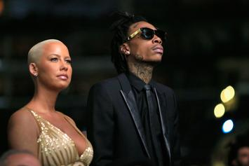Amber Rose Freaks Out After Her Wiz Khalifa Engagement Ring Gets Stolen
