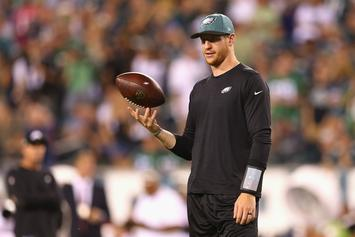 Philadelphia Eagles Announce Carson Wentz To Start Week 3