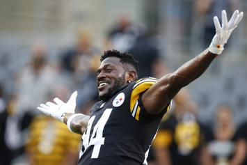 Antonio Brown Disciplined By Steelers' Coach Mike Tomlin For Skipping Practice
