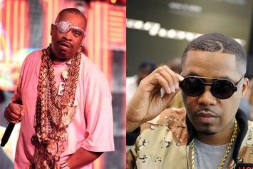 Nas & Slick Rick Post Up In Historical Hip-Hop Photo