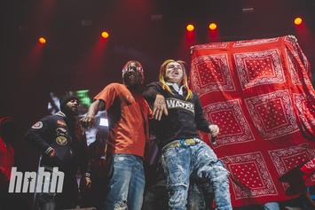 6ix9ine Gets In His Feelings To A Drake Song & Explains Why He's So Successful