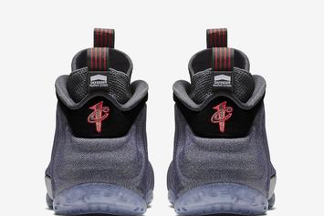 """Nike Air Foamposite One """"Denim"""" To Release This Week: Official Images"""