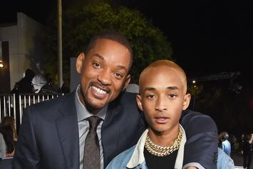 "Will Smith & Jaden Smith Stock Up Target Store: ""JUST"" Water & Piggyback Rides"