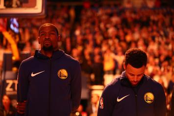 """Knicks Have A """"Very Good Shot"""" At Signing Kevin Durant: Report"""