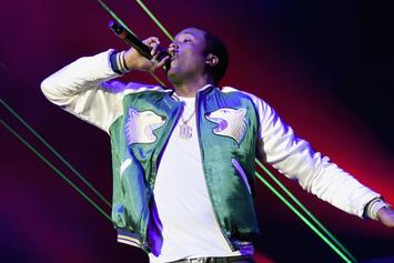 Meek Mill Is Conjuring Up Some Fire In The Booth