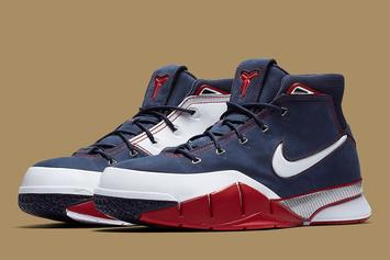 "Nike Kobe 1 Protro ""USA"" Releasing For First Time Since 2006"