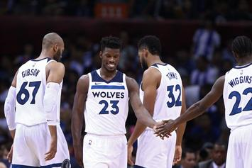 """Jimmy Butler Returns To Practice: """"You Can't Win Without Me"""""""