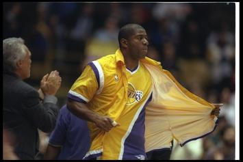 """Los Angeles Lakers """"City Edition"""" Uniforms Pay Homage To Magic Johnson"""