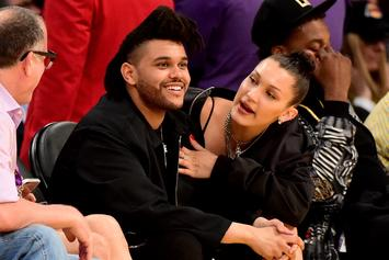 """Bella Hadid Shares Intimate Birthday Moments With Her """"Baby"""" The Weeknd"""