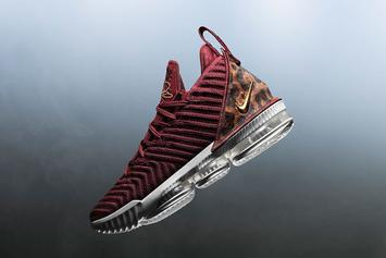 """Nike LeBron 16 """"King"""" Releasing For LeBron's Lakers Debut"""
