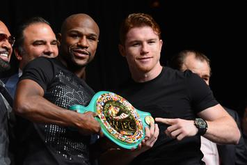"Floyd Mayweather Laughs Off Canelo's Challenge: ""Takes Me 36 Mins To Make $300 Mill"""