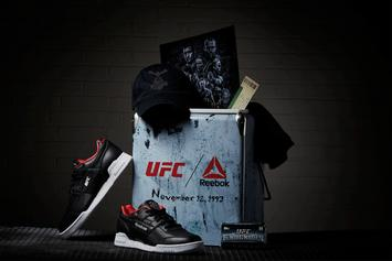 5c18523843a4 UFC x Reebok Sneaker Collab Features Quality Leather Inspired By UFC Gloves
