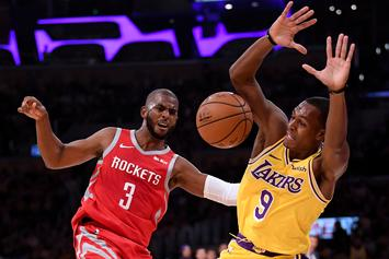 Chris Paul, Rajon Rondo, & Brandon Ingram Suspended Following Staples Center Brawl