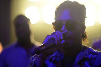 """Lupe Fiasco Delivers Intimate Rendition Of """"Mural Jr."""" In A Single Take"""