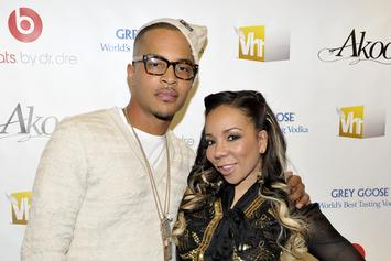 "Tiny Confronts T.I. About His Alleged Infidelity On ""Friends And Family Hustle"""