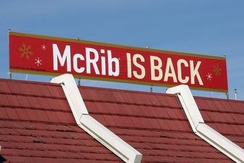 McDonald's Brings Back The Beloved McRib For A Limited Time