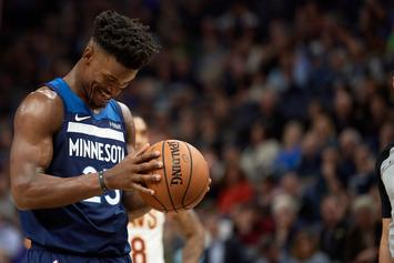 Timberwolves Won't Bite On Rockets' Trade Offer For Jimmy Butler: Report