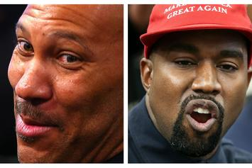 Kanye West Finally Meets His Equal, LaVar Ball