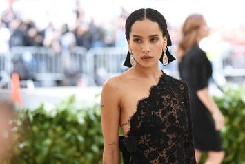 Zoe Kravitz Is Striking As She Poses Nude For Rolling Stone Channeling Her Mother
