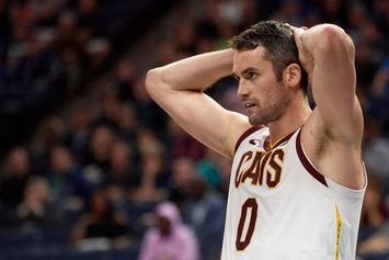 Kevin Love Might Be Out For More Than A Month: Report