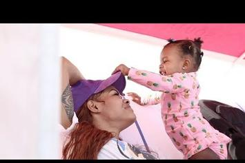 "Teyana Taylor Balances Her Family & Career In ""Gonna Love Me"" Video"