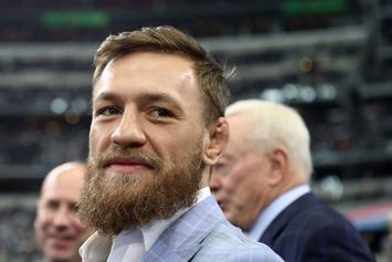 """Conor McGregor Smokes Weed With Mike Tyson, Approves Of The """"KO Kush"""""""