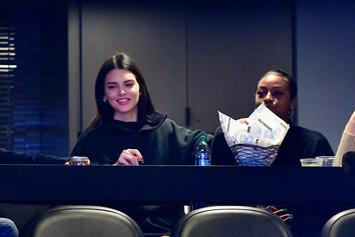 Kendall Jenner Attends Sixers Game, Fails To Curse Ben Simmons