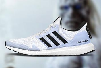 "Game Of Thrones x Adidas UltraBoost ""White Walkers"": First Look"