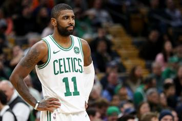 Kyrie Irving Fined $25,000 For Throwing Ball Into The Stands