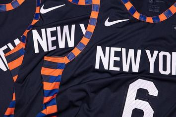 "New York Knicks Introduce Nike ""City Edition"" Uniform"