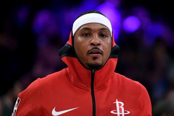 Carmelo Anthony's Rockets Teammates Don't Believe He'll Return: Report