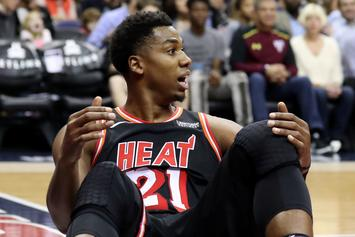 Hassan Whiteside Had $50K Assault Rifle Stolen Out Of His Rolls-Royce
