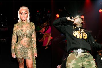 """Blac Chyna Wants 6ix9ine To Remain In Prison: """"Free Never Mind"""""""