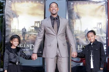 Will Smith Shares Throwback Photo With Jaden & Willow As Babies