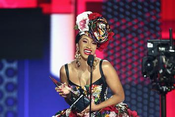 "Cardi B Reveals 2019 Goals As She's Named One Of EW's ""Entertainers Of The Year"""