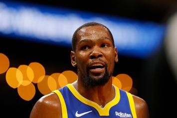 "Kevin Durant Jokes With Hawks Fans: ""Watch The Game And Shut Up"""