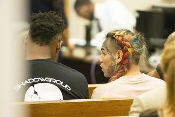 "Tekashi 6ix9ine's ""Sexual Misconduct With A Minor"" Case Closed By NY Judge"