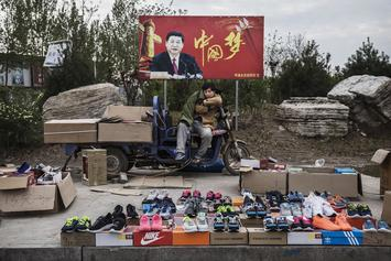 Chinese Authorities Destroy $87.5 Million Worth of Fake Sneakers