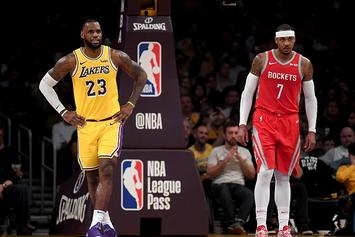 LeBron James Wants Carmelo Anthony To Join Lakers: Report