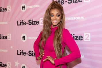 Tyra Banks Continues To Spit Bars While Hosting Charity Gala In Texas