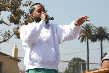 """Nipsey Hussle Unfazed By His Recent Brawl: """"I Forgot About It"""""""