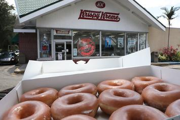 Krispy Kreme Is Offering A Dozen Donuts For $1 Today Only