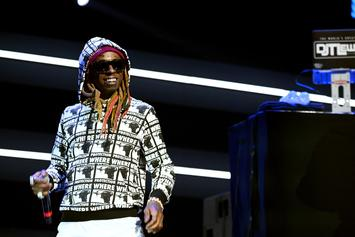"""Lil Wayne Performs """"Don't Cry"""" On The Late Show With Stephen Colbert"""